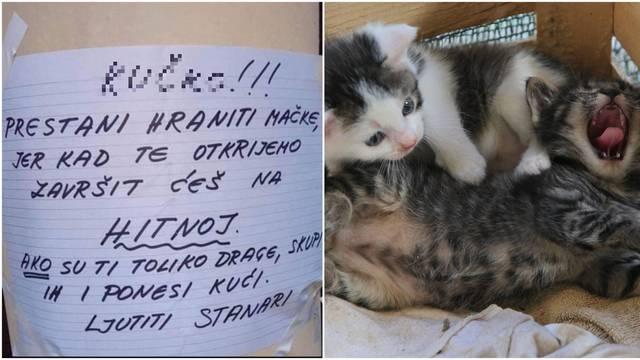 'Ku*ko, prestani hraniti gladne mačiće, završit ćeš na Hitnoj...'