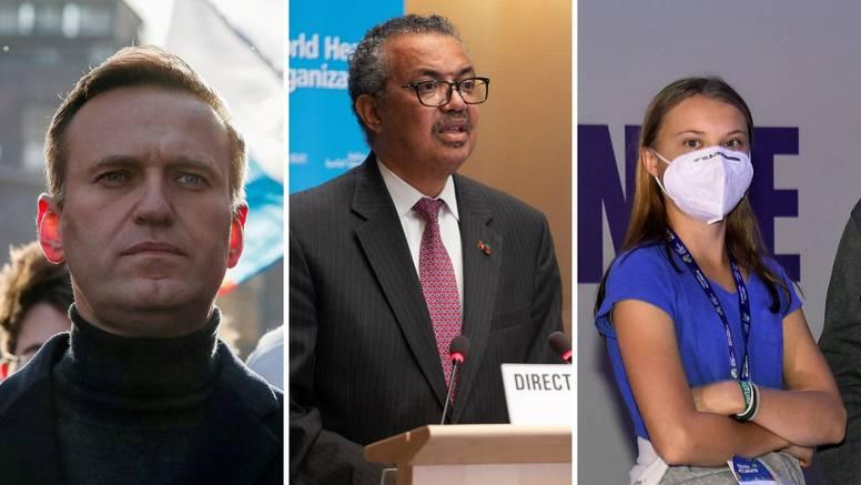 Nobelova nagrada za mir: U izboru WHO, Navaljni, Thunberg