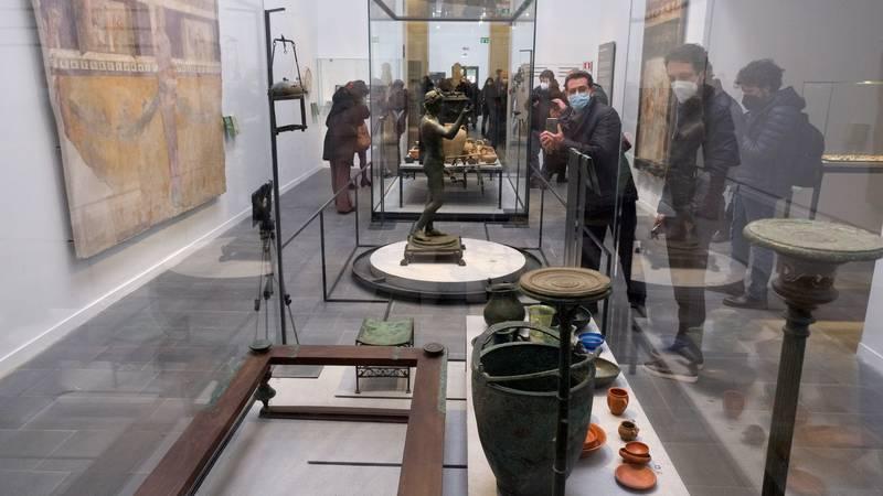 Ponovo se otvara slavni muzej Antiquarium u Pompejima
