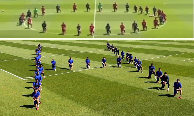 Kleknuli Kova i Lovren: Chelsea i Liverpool podržali BLM pokret