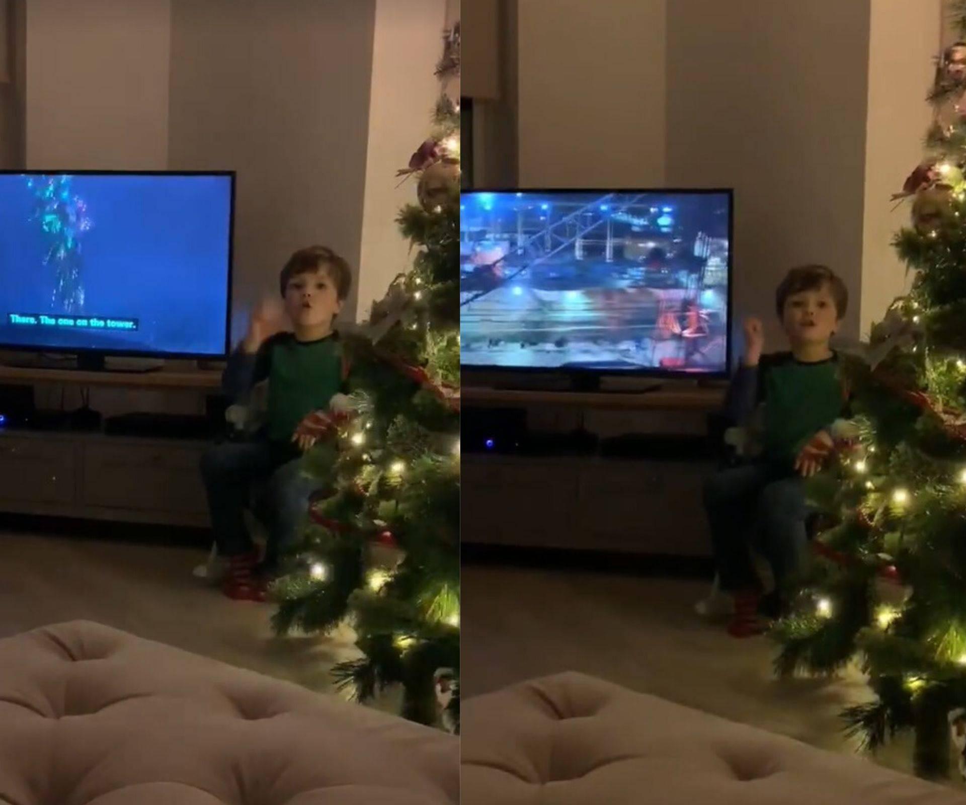 Dirljivo: Dječak (4) roditeljima tumači film znakovnim jezikom