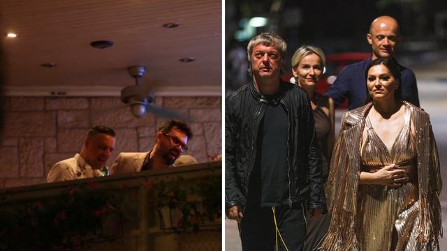 Intimne snimke iz Vele Luke: Grašo i Nina pjevali Oliverove pjesme na terasi konobe Bata