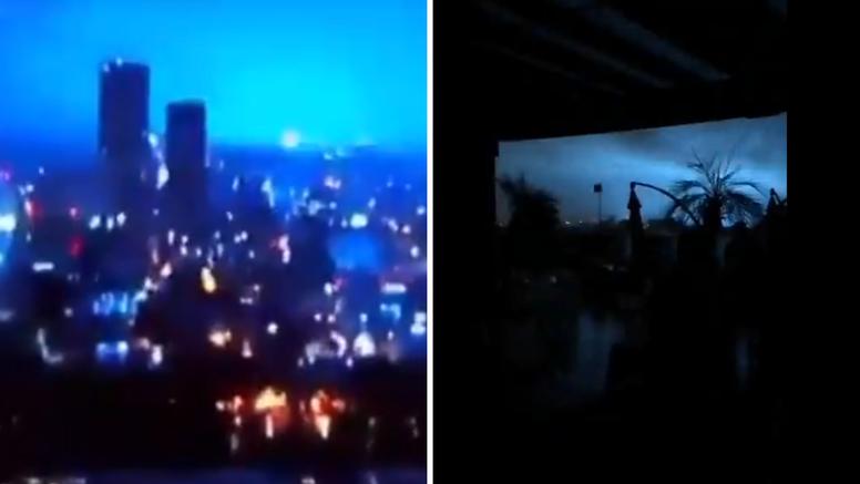 VIDEO U Meksiku se nakon jakog potresa od 7 Richtera na nebu pojavila plava svjetlost