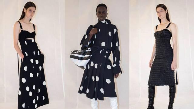 Proenza Schouler: Točkaste chic haljine, baloneri i mikro volani