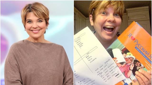 Karmela ide na tečaj ruskog jezika: 'Uz kavu pišem zadaću'