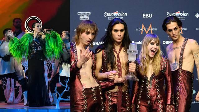 Najbolji modni momenti na Euroviziji: Od muških štikli do haljina sa srebrnim šljokicama