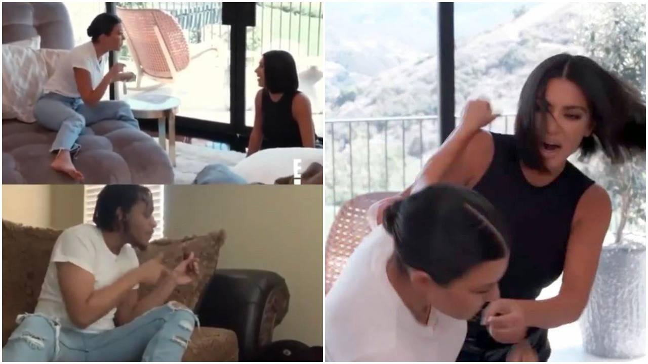 Ljudi se 'rugaju' s tučnjavom sestara Kardashian: Ovo je hit