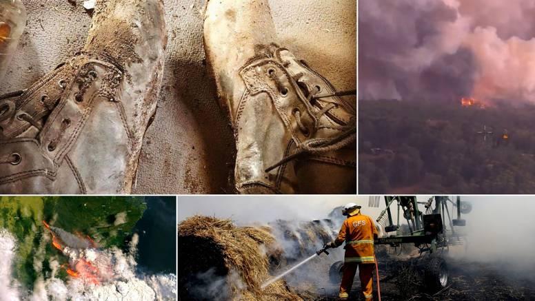 Australski vatrogasac: Đon na čizmama mi se sasvim rastopio