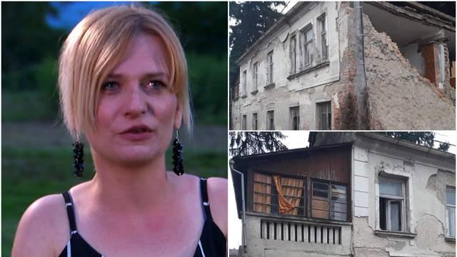 Sandra u suzama zbog potresa: 'Kad trese, paraliziram se. Bez posla sam ostala, oštetilo se...'