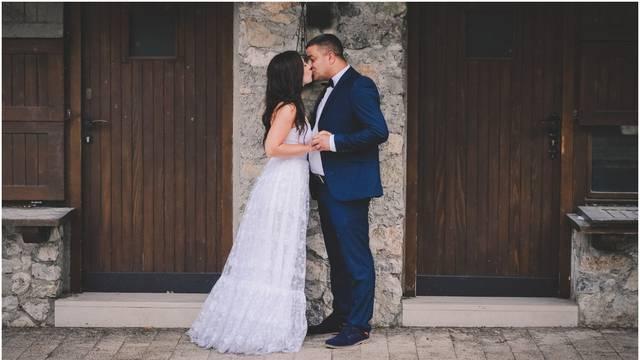 Ekskluzivne fotke s Hakijina vjenčanja: 'Bilo je neobično, ali smo poštivali sve mjere opreza'