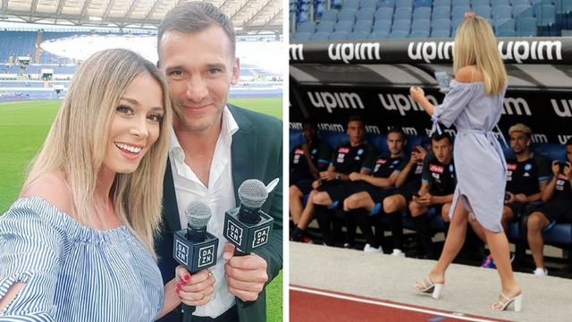 Kad Diletta prošeta: Napolijevi igrači i Ševa ostali bez teksta...