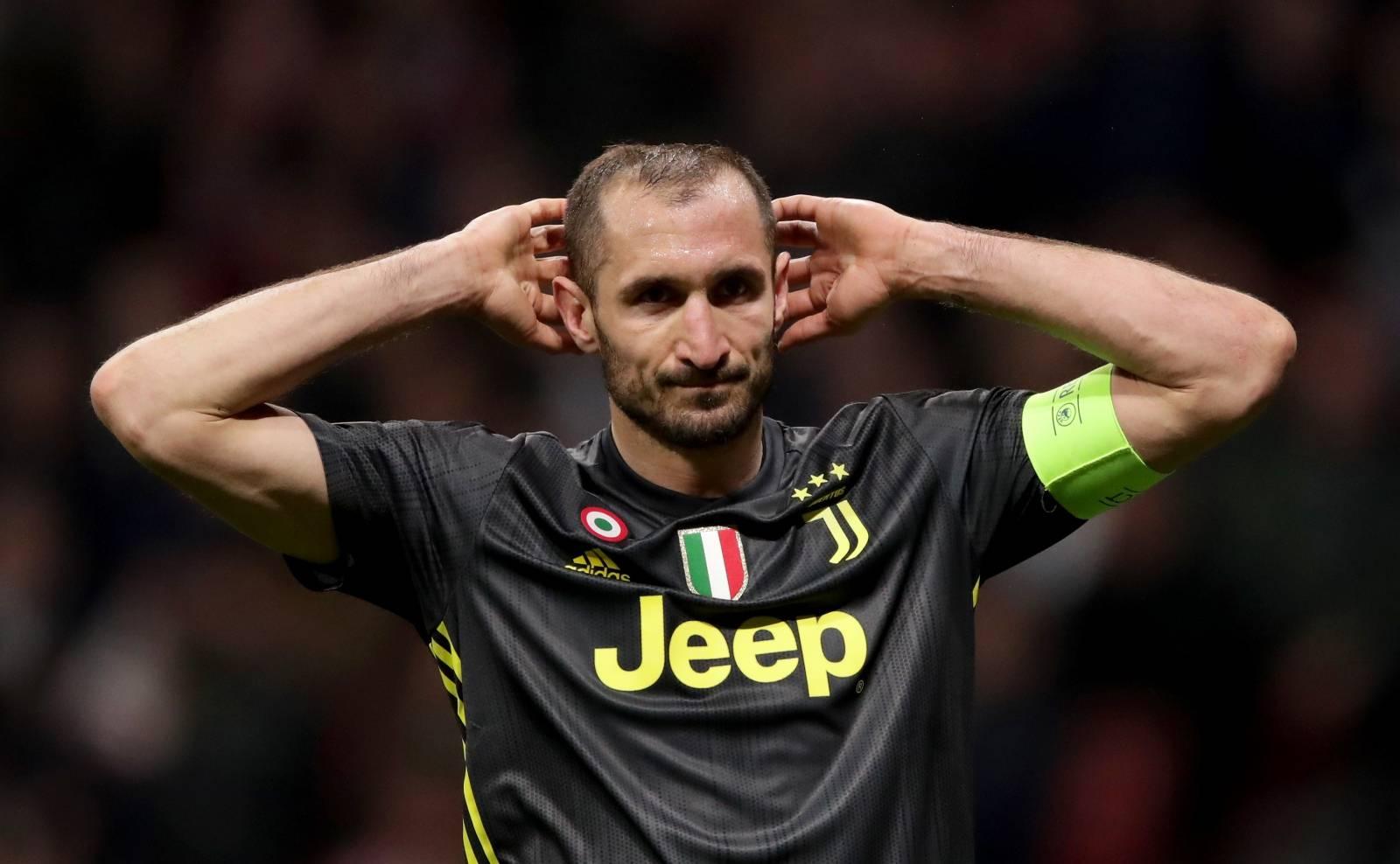 Atletico Madrid v Juventus - UEFA Champions League - Round of 16 - First Leg - Wanda Metropolitano Stadium