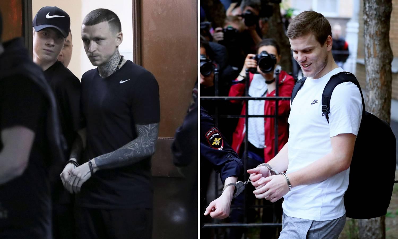 Zbog divljačkog napada: Ruski nogometaši osuđeni na zatvor