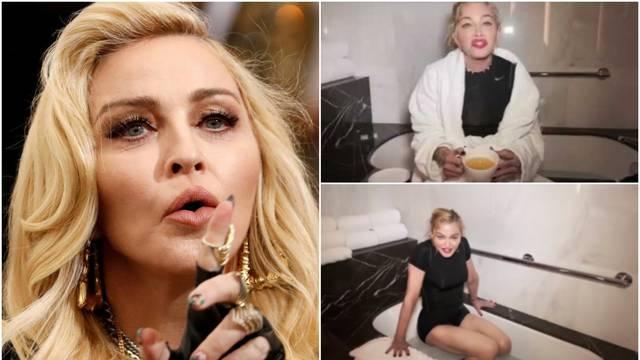 Fanovi u šoku: Madonna koristi kupaonu za invalide i pije urin