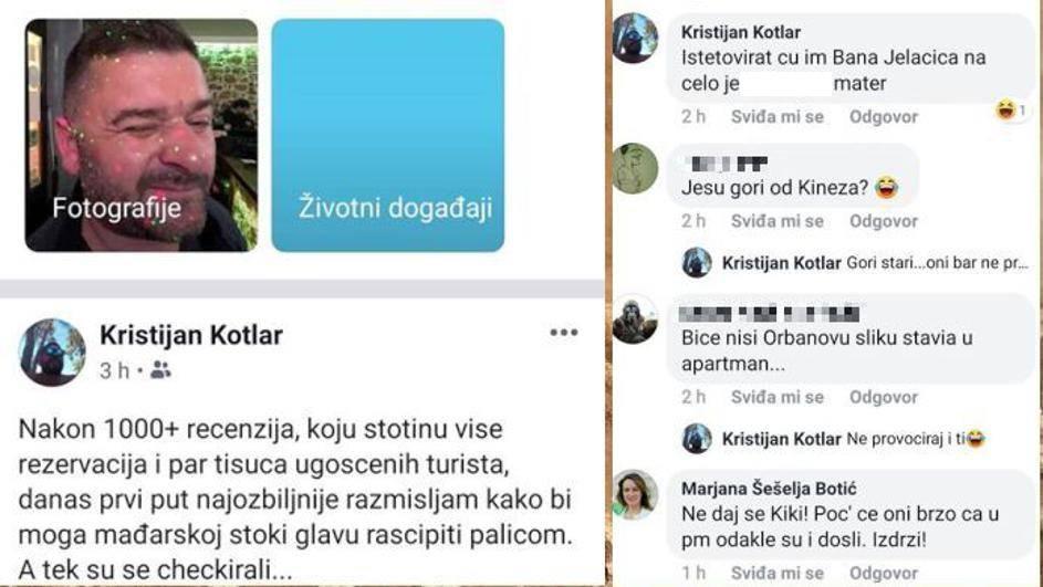 Mađarske turiste ugostio pa ih na Facebooku nazvao 'stokom'