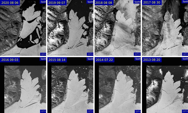 Ledenjak veći od Pariza odlomio se s Grenlanda zbog 'vrućina'