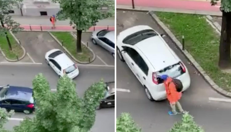 Svaka čast, majstore! Odgurao auto i spriječio gužvu u Zagrebu