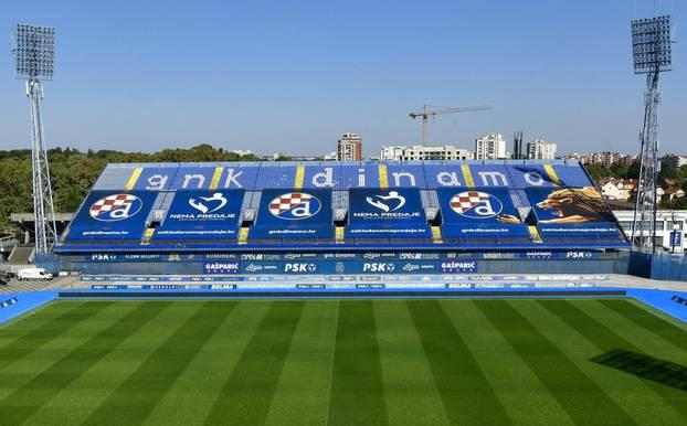 Zagreb: Uljepšana istočna tribina stadiona Maksimir