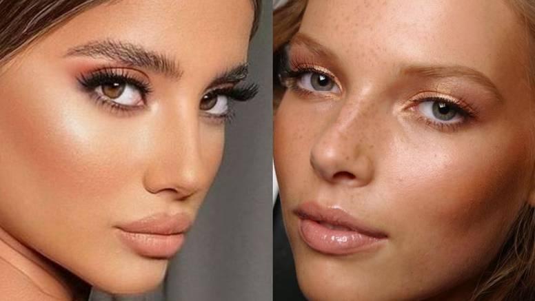 Za vječito sunce na licu: Bronzer u 6 neodoljivih make-up stilova