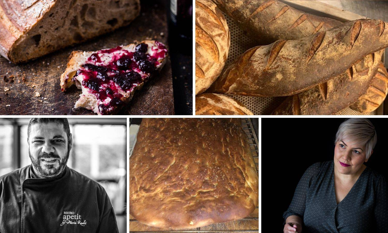 Kiseli kruh rađen s puno ljubavi i to od kvasa starog 2,5 godine