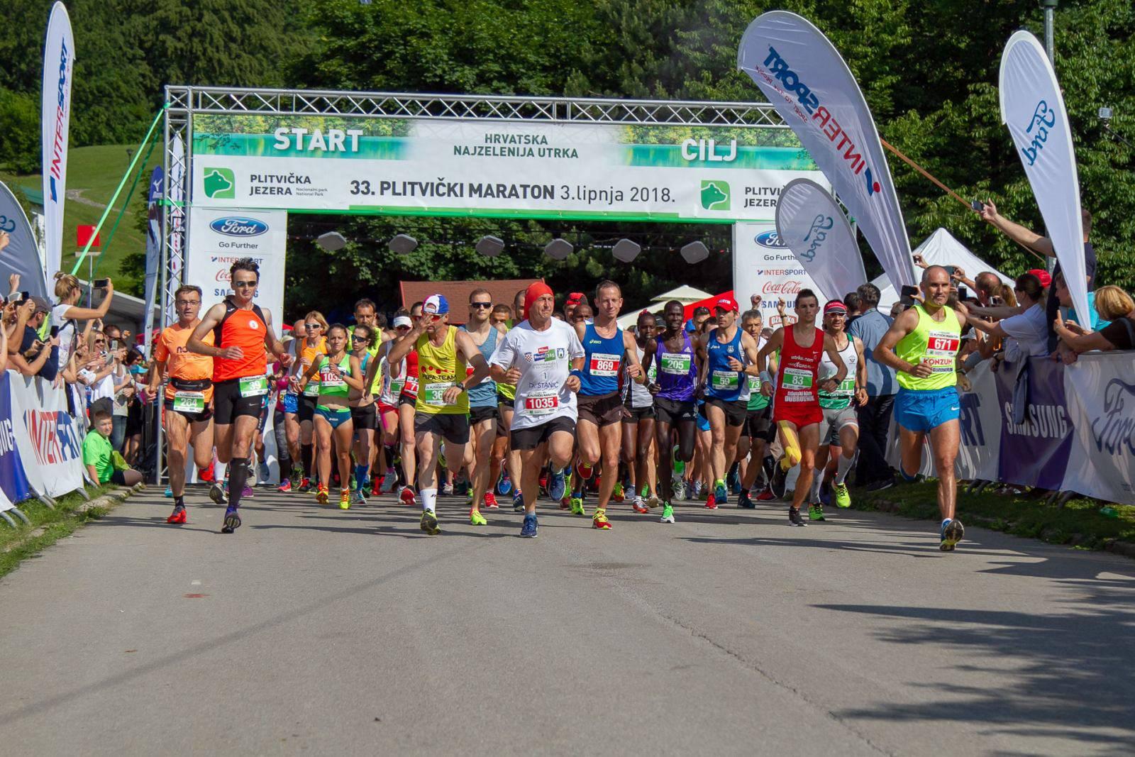 Državni prvaci  u maratonu su Milorad Vojvodić i Matea Hačić