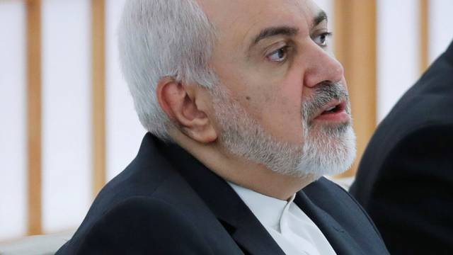 Iranian Foreign Minister Mohammad Javad Zarif meets Japanese Foreign Minister Taro Kono in Tokyo