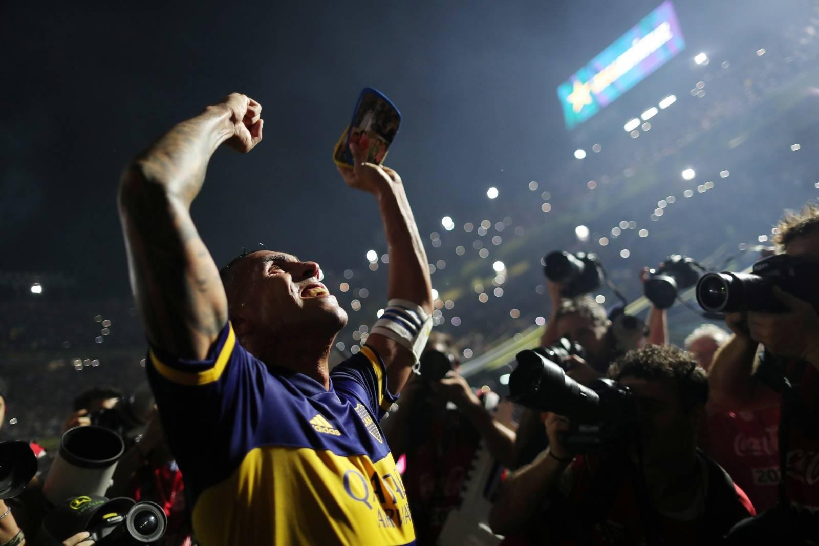 Superliga - Boca Juniors v Gimnasia y Esgrima