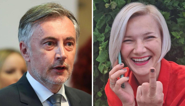 Dogradonačelnica Osijeka Škori je pokazala srednji prst: 'Milo moje, evo damski odgovor'