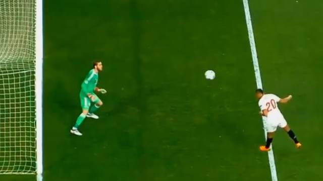De Genijalan! Unitedov golman imao je 24 stotinke za obranu