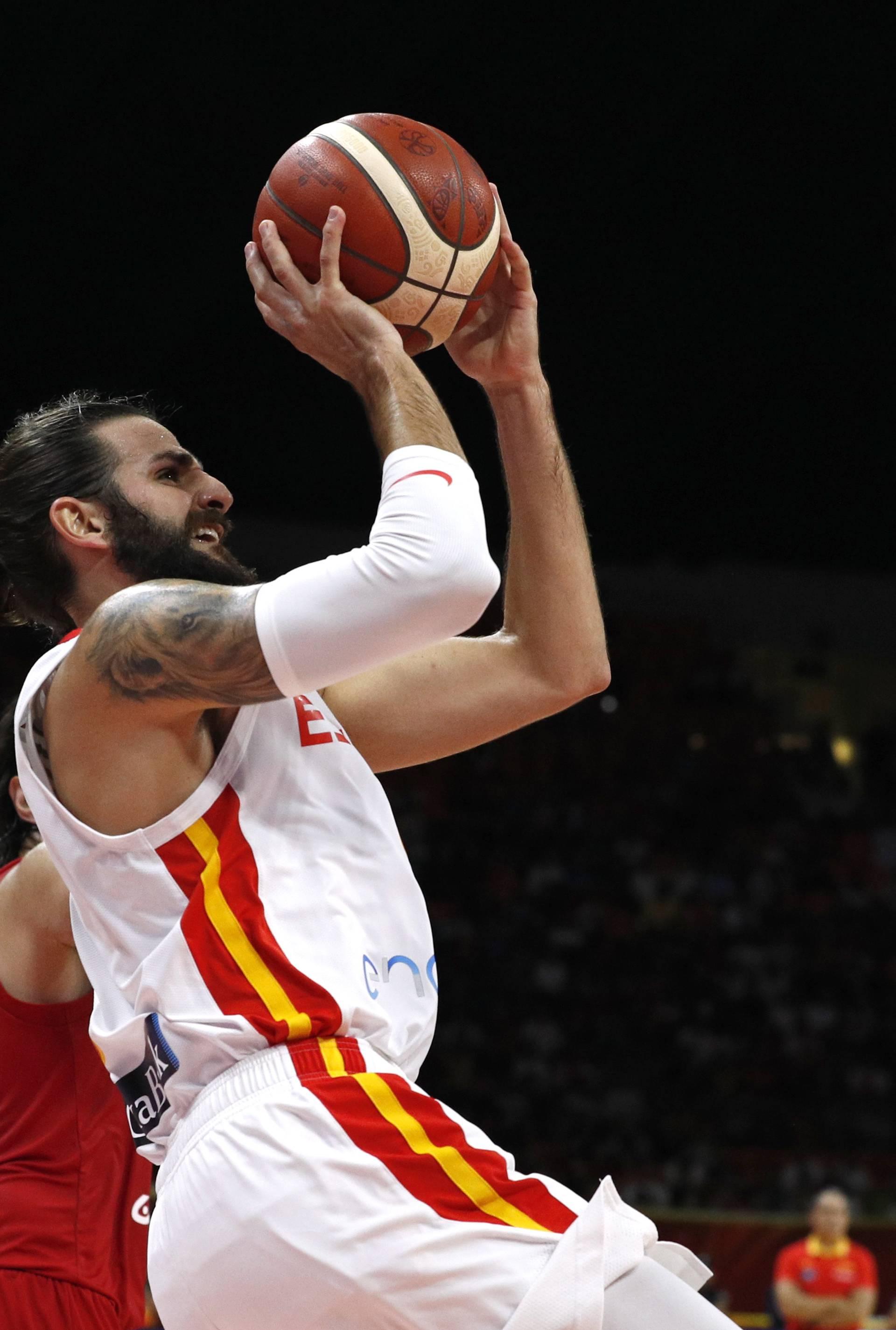 Basketball - FIBA World Cup - First Round - Group C - Spain v Iran