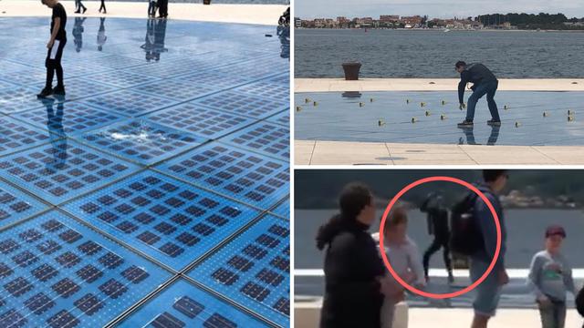 Video: Uništio 'Pozdrav Suncu' u Zadru, šteta oko 660.000 kn