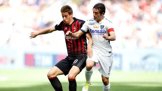 AC Milan v Empoli   Italian Serie A