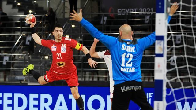 2021 IHF Handball World Championship - Preliminary Round Group C - Qatar v Japan