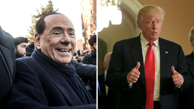Berlusconiju laskaju usporedbe s Trumpom: Ima puno sličnosti