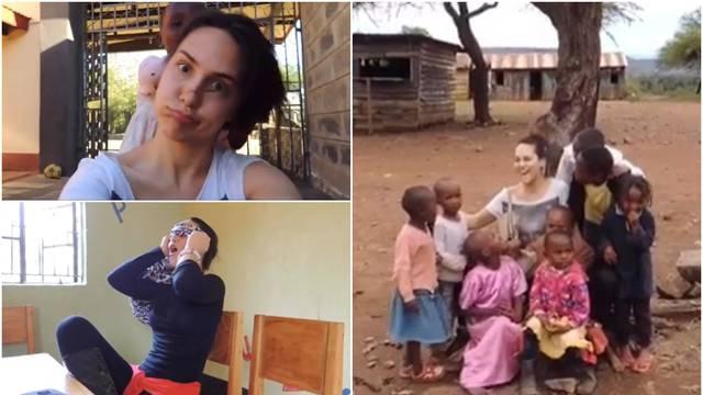 Lana objavila dosad neviđene snimke: Volontirala je u Africi