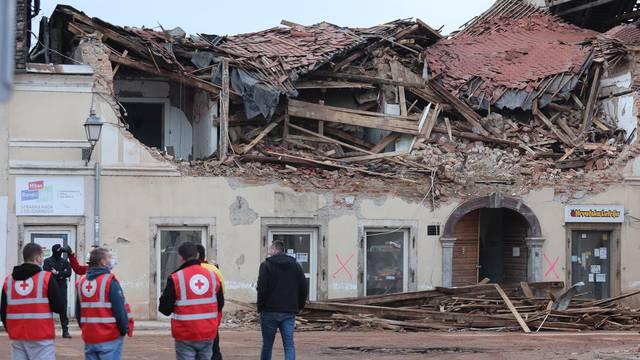Svakodnevni život grada Petrinje nakon potresa