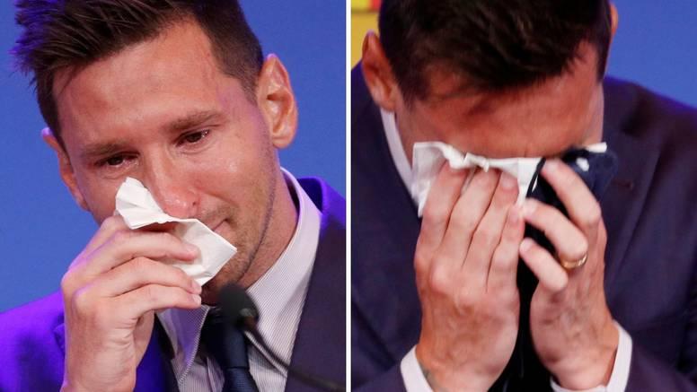 VIDEO Messi se rasplakao: Htio sam otići na terenu. Ne vraćam se više u Barcu, Pariz? Polako...