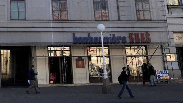 Kraš zatvorio trgovinu, potres oštetio zgradu u centru Zagreba