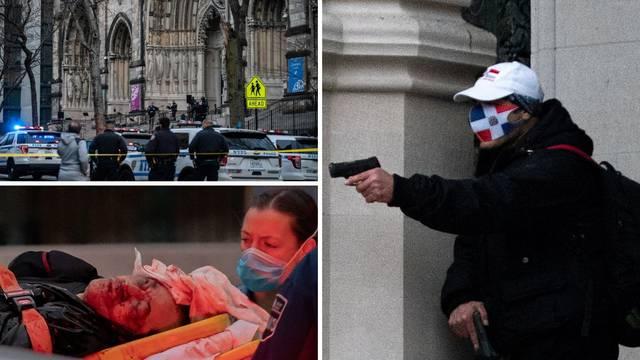 Drama u New Yorku: Pucao, imao spremnik pun benzina i noževe, ubila ga policija