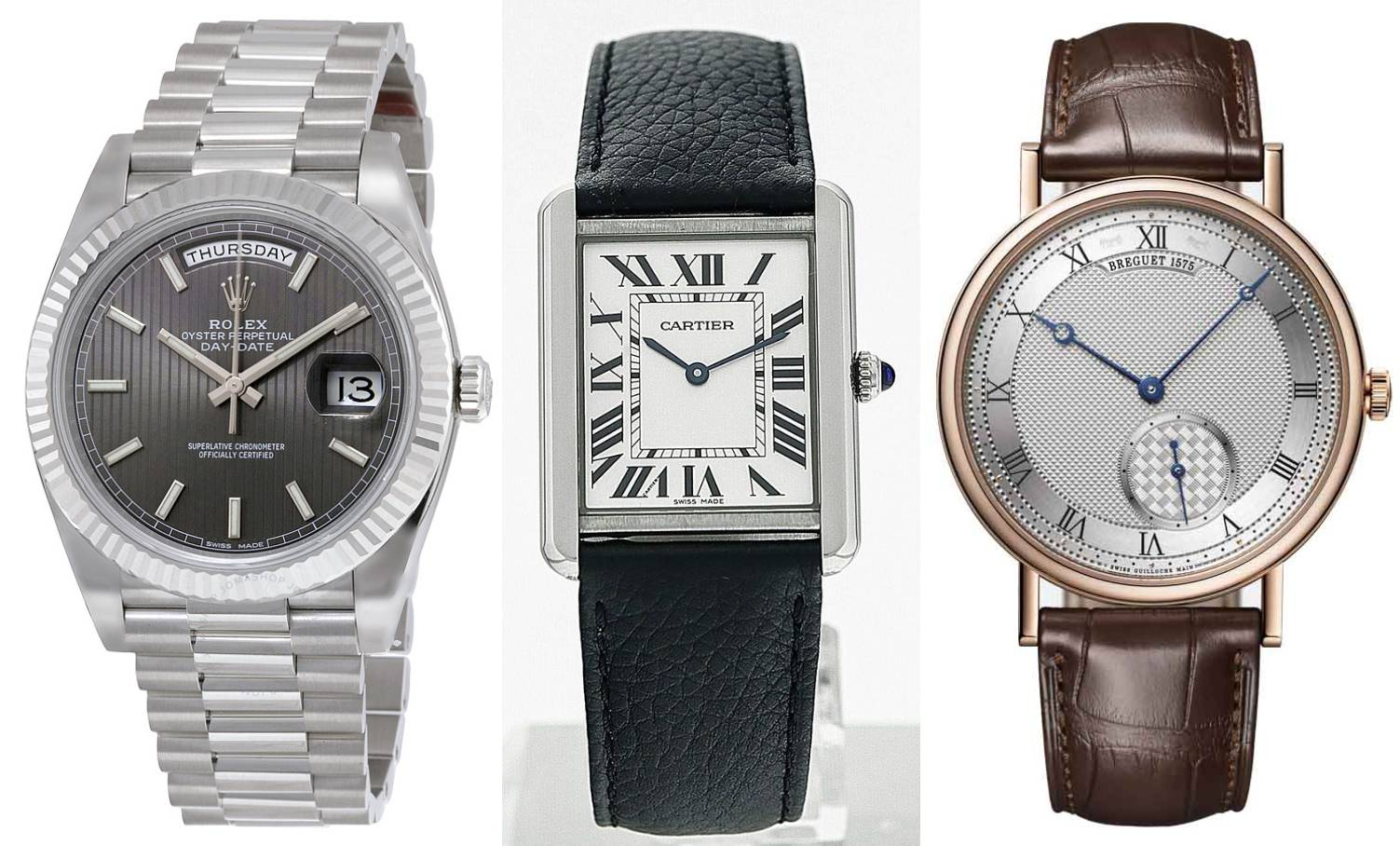 5 klasika za mušku eleganciju: Od Rolexa, Pateka do Cartiera