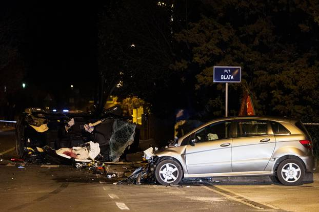 Dvoje mrtvih u prometnoj nesreći u mjestu Kožino nedaleko Zadra