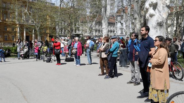 Novi projekt Turističke zajednice grada Zagreba počeo je na Zrinjevcu
