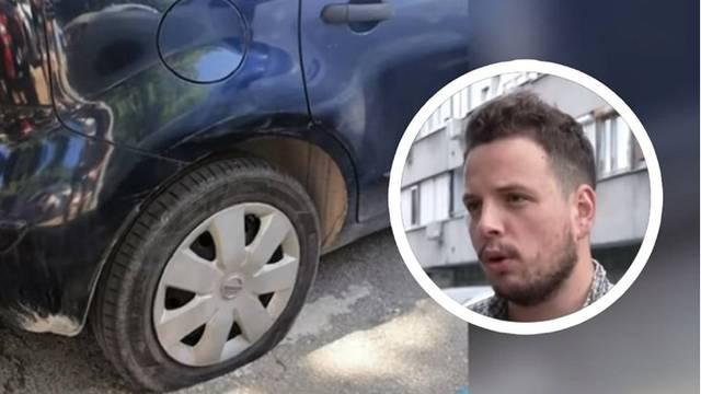 """Mladiću iz Novog Sada izbušili gume u Splitu: """"Mnogi su mi nudili pomoć, bilo ih je sram"""""""