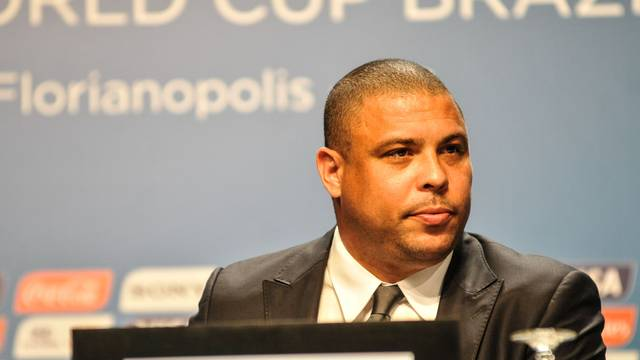 Ronaldo Nazario, former player, during technical meeting for the FIFA World Cup 2014 in Florianopolis