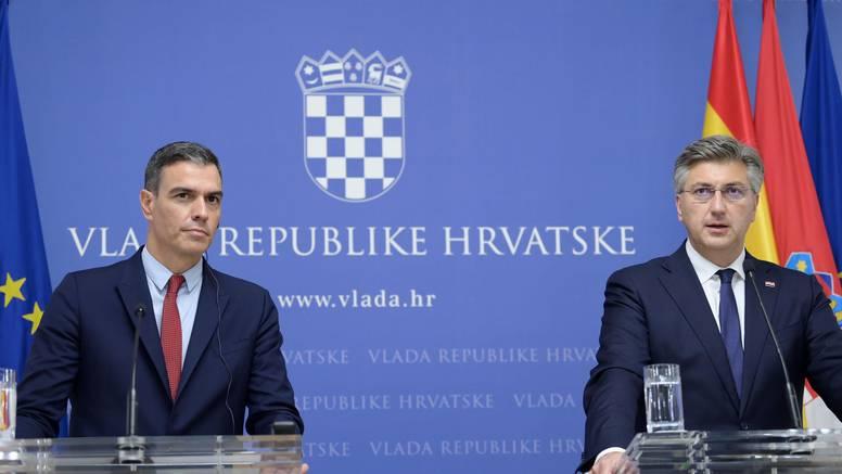 Prvi put nam u službenu posjetu stigao neki španjolski premijer: 'Želimo još užu i bolju suradnju'