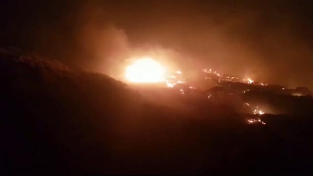 Plamen guta Dinaru, HGSS spašava planinarska skloništa