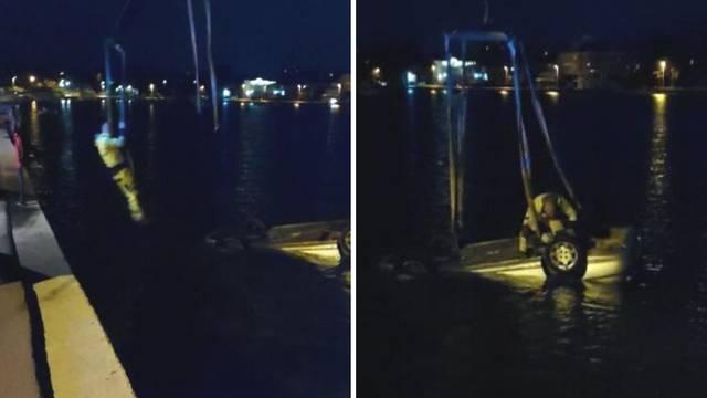 VIDEO Autom odletjeli u more u Zadru. 'Bili su daleko od obale'