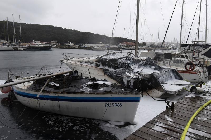 Plovila u lučici zapalila su se zbog kvara na instalacijama