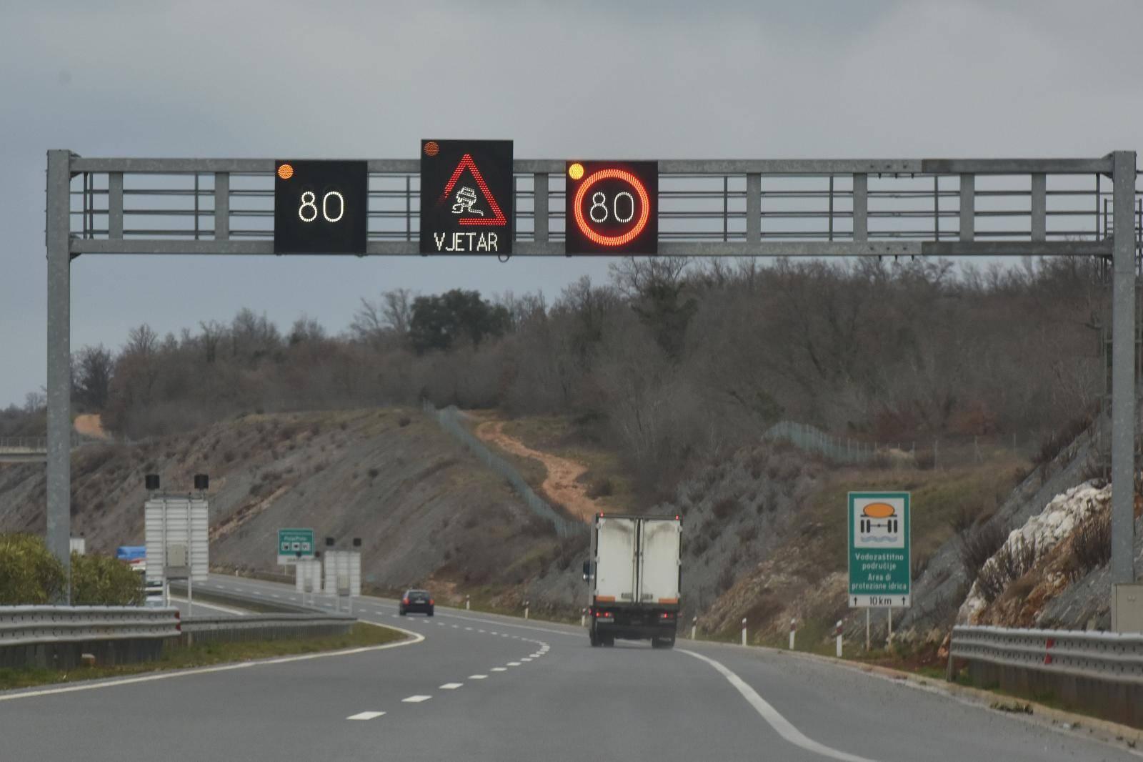 Prometna nesreća na istarskom ipsilonu između čvorova Pule i Kanfanara: U tijeku je očevid