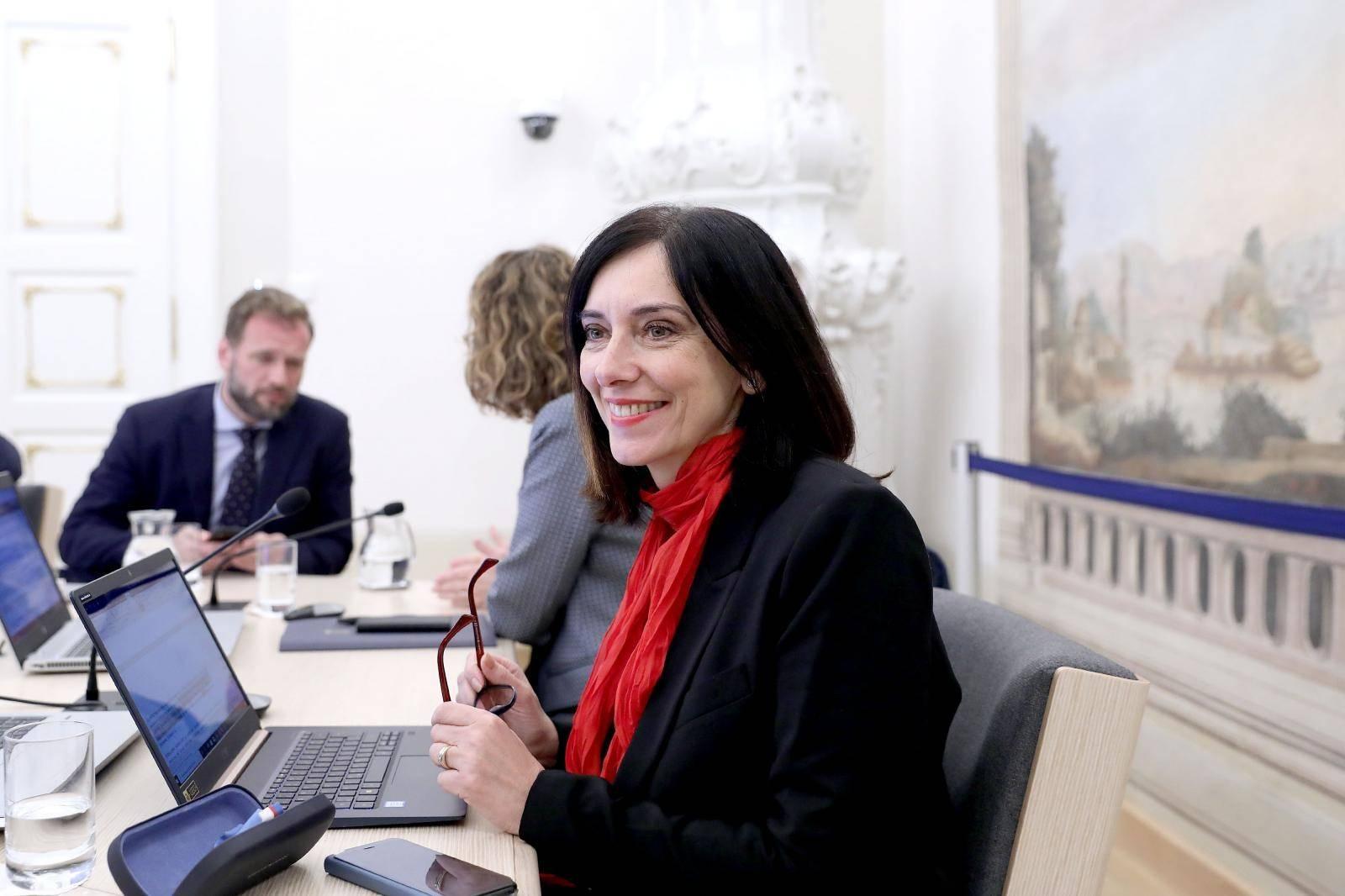 Zagreb: U Banskim dvorima održana je 185. sjednica Vlade RH
